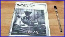 Vintage KitchenAid Hobart Grain Mill Coffee Grinder Model GM REFURBISH RARE