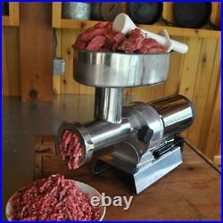 Weston Butcher Series #32 Electric Meat Grinder (1 ½ Hp)