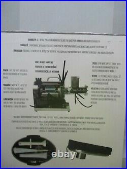 Weston Pro Series #12 Meat Grinder 33% More Power All Metal 750 Watts 10-1201-W