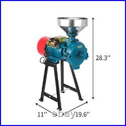 Wet&Dry 110V 2.2kW 1400r/min Electric Feed/Flour Mill Cereals Grinder Grain Corn